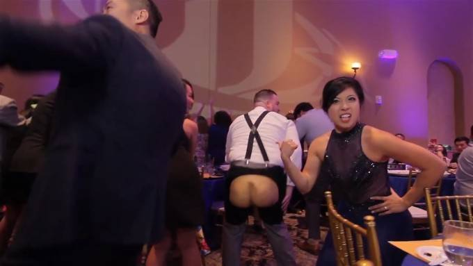 EPIC WEDDING MUSIC VIDEO WITH 250 GUESTS IN ONE TAKE! - YouTube (720p).Still003