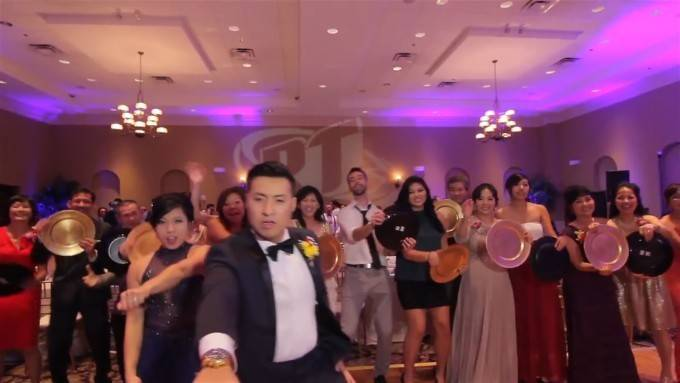 EPIC WEDDING MUSIC VIDEO WITH 250 GUESTS IN ONE TAKE! - YouTube (720p).Still005