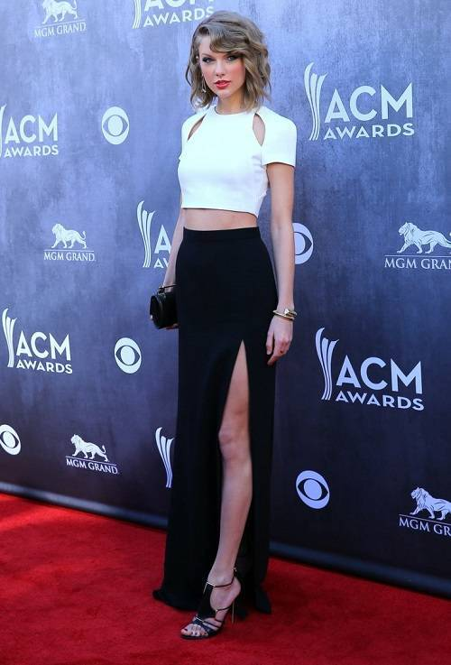 49th Annual Academy of Country Music Awards at MGM Grand Resort and Casino Las Vegas Featuring: Taylor Swift Where: Las Vegas, Nevada, United States When: 06 Apr 2014 Credit: Judy Eddy/WENN.com