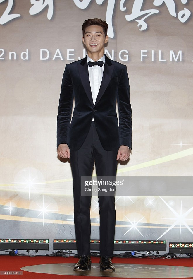 attends the 52nd Daejong Film Awards at KBS on November 20, 2015 in Seoul, South Korea.