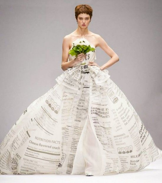 Moschino Finale Gown AW 2014