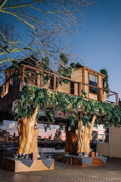 A luxury 35 foot treehouse, inspired by the South African destinations from Virgin Holidays has opened on London's Southbank. The public can visit every day this week and a lucky few can win an overnight stay by entering their details at virginholidays.co.uk/dreambigger