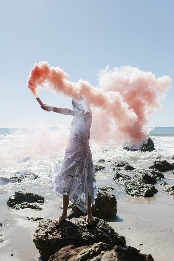 aimee_song_of_style_self_portrait_georgette_smoke_beach