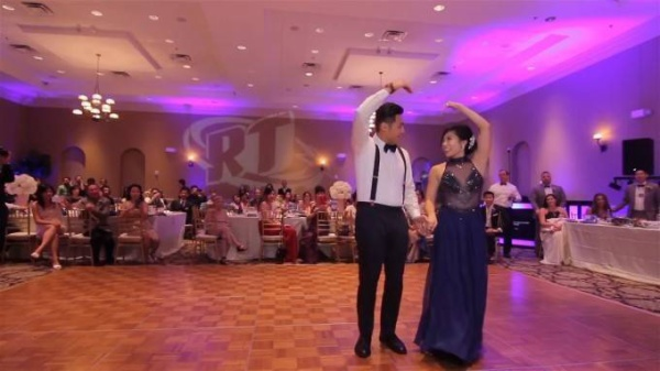 EPIC WEDDING MUSIC VIDEO WITH 250 GUESTS IN ONE TAKE! - YouTube (720p).Still010