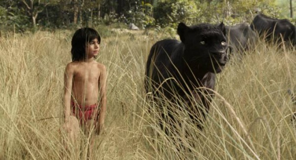 Mowgli (newcomer Neel Sethi) and Bagheera (voice of Ben Kingsley) embark on a captivating journey in ?The Jungle Book,? an all-new live-action epic adventure about Mowgli, a man-cub raised in the jungle by a family of wolves, who is forced to abandon the only home he?s ever known. In theaters April 15, 2016. ..?2015 Disney Enterprises, Inc. All Rights Reserved.