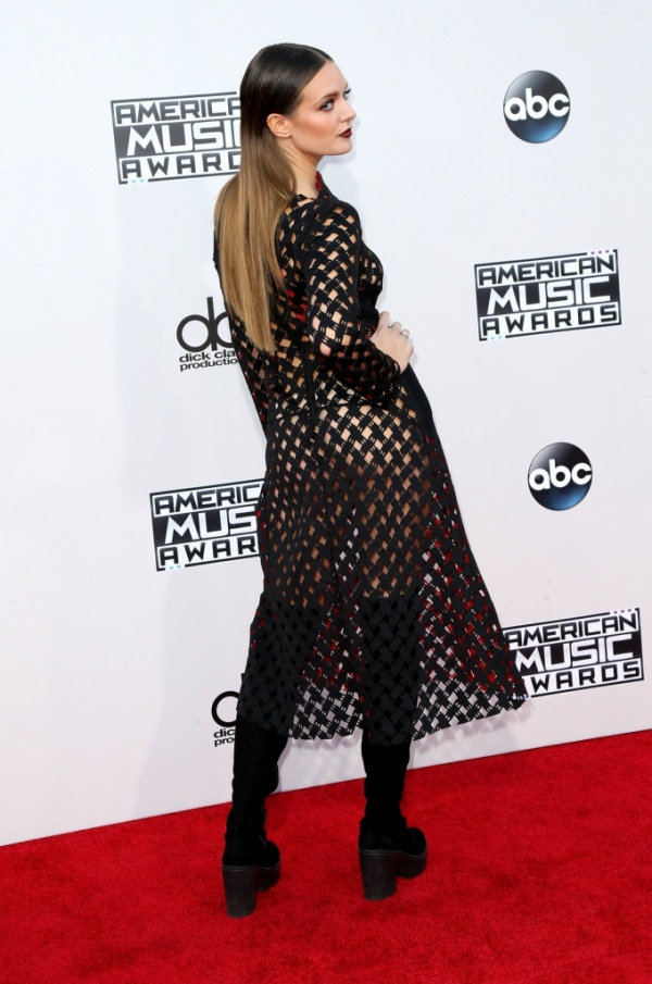 Tove Lo at the American Music Awards on Nov. 22.