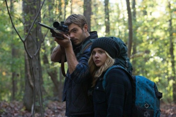 "Chloë Grace Moretz and Alex Roe star in Columbia Pictures' ""The 5th Wave."""