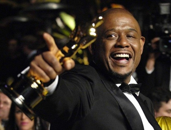 Actor Forrest Whitaker arrives for the Vanity Fair Oscar Party at Mortons in West Hollywood February 25, 2007. REUTERS/Chris Pizzello (UNITED STATES)