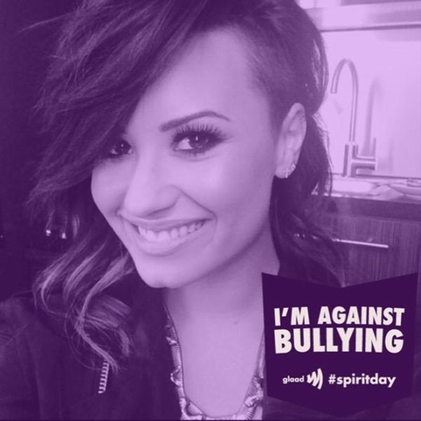 demilovato spirit day