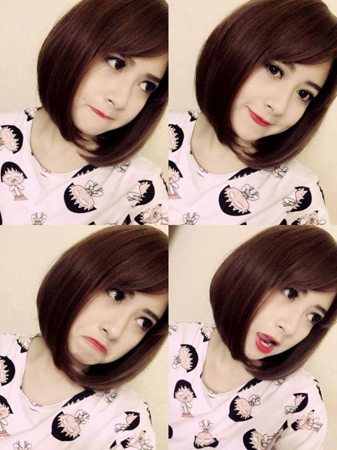 Những kiểu tóc đẹp của Trang Pizza, hấp dẫn với tóc ngắn ngang vai 12