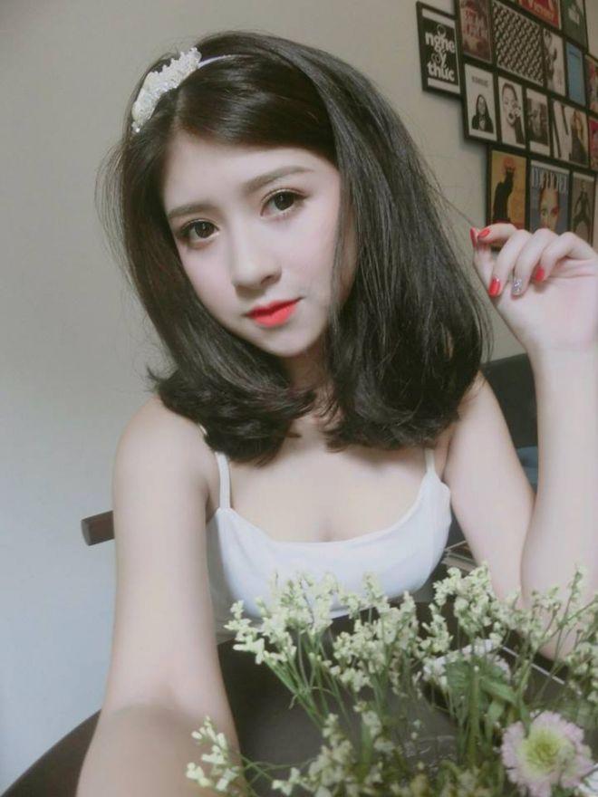 Những kiểu tóc đẹp của Trang Pizza, hấp dẫn với tóc ngắn ngang vai 3