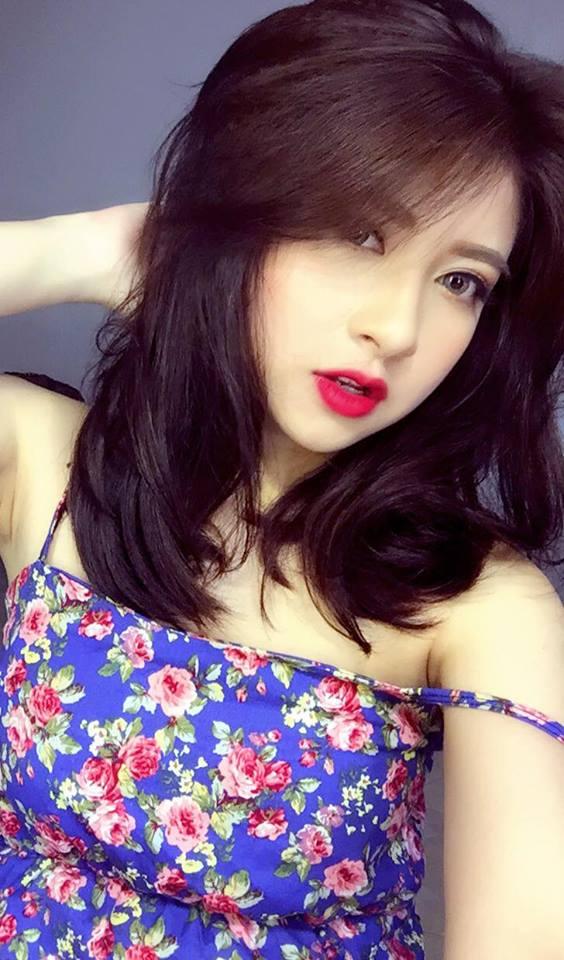 Những kiểu tóc đẹp của Trang Pizza, hấp dẫn với tóc ngắn ngang vai 5