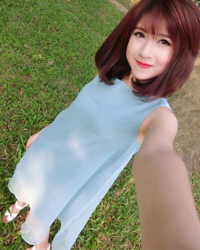 Những kiểu tóc đẹp của Trang Pizza, hấp dẫn với tóc ngắn ngang vai 7