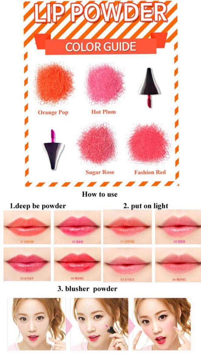 Bộ mỹ phẩm dạng bột Hàn Quốc, sản phẩm làm đẹp mới cho chị em lamcongai.com -12