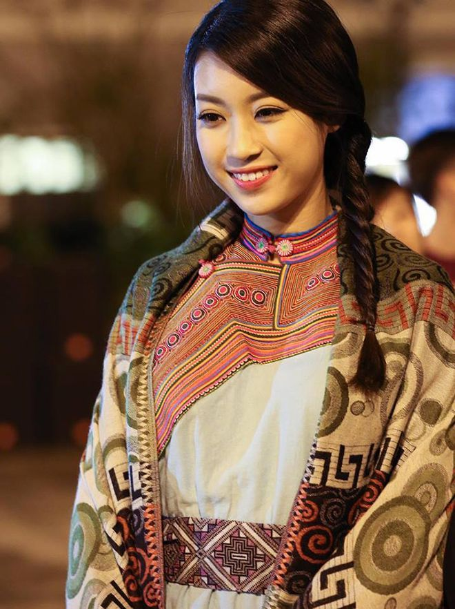 Vẻ đẹp dịu dàng của Đỗ Mỹ Linh.