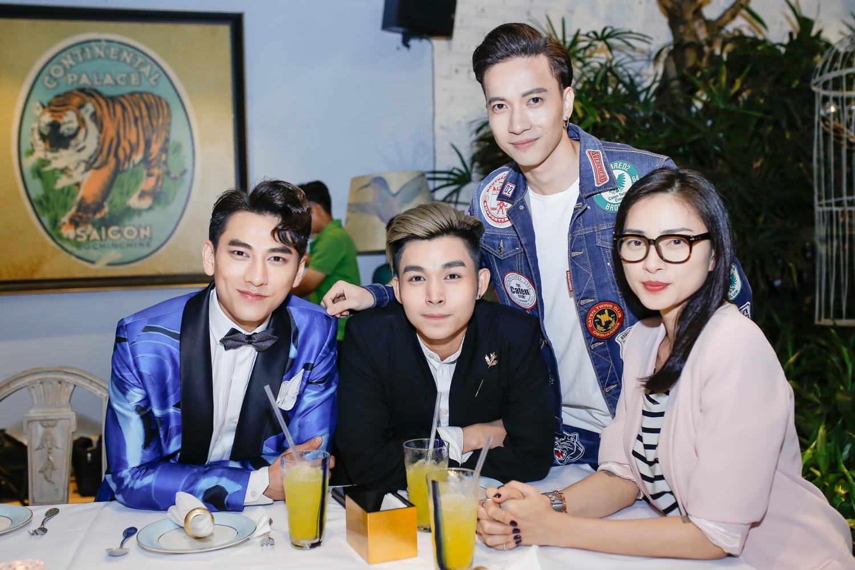 Ngô Thanh Vân và hai thành viên nhóm 365