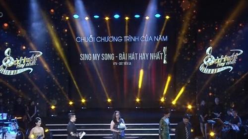 Mới mùa đầu tiên, Sing My Song - Bài hát hay nhất đã lên ngôi 'Chuỗi chương trình của năm' Giải Cống Hiến 2017