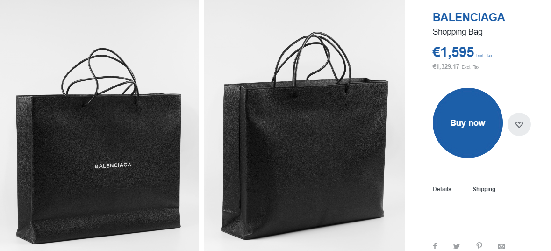 Chiếc túi đã được bán trên rất nhiều trang web khác nhau. cơ hội được bạn chạm tay vào siêu phẩm này trở nên dễ dàng hơn.