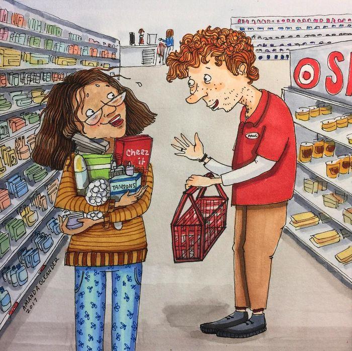 Các cô gái lúc nào cũng từ chối cầm giỏ khi đi siêu thị, vì nghĩ mình sẽ mua rất ít thôi. Nhưng sự thật là…