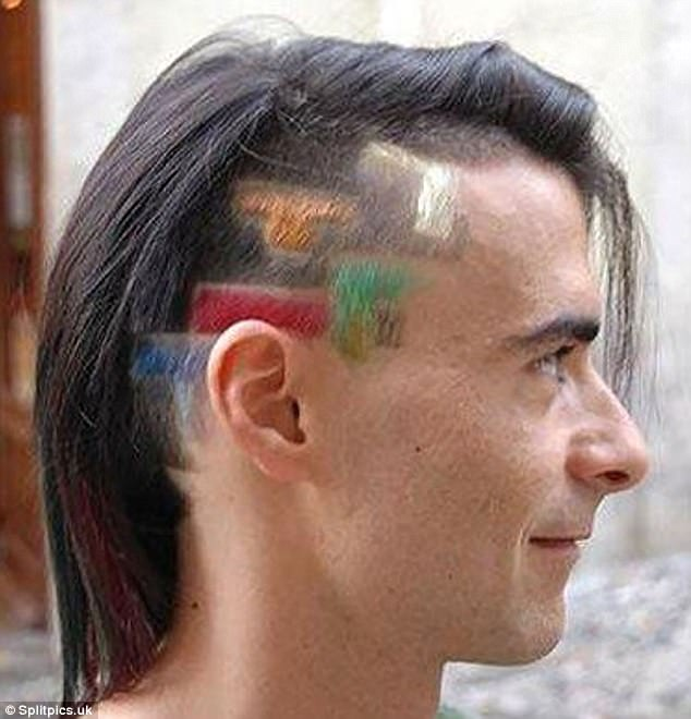 Tạo kiểu tóc mới để ủng hộ cộng đồng LGBT.