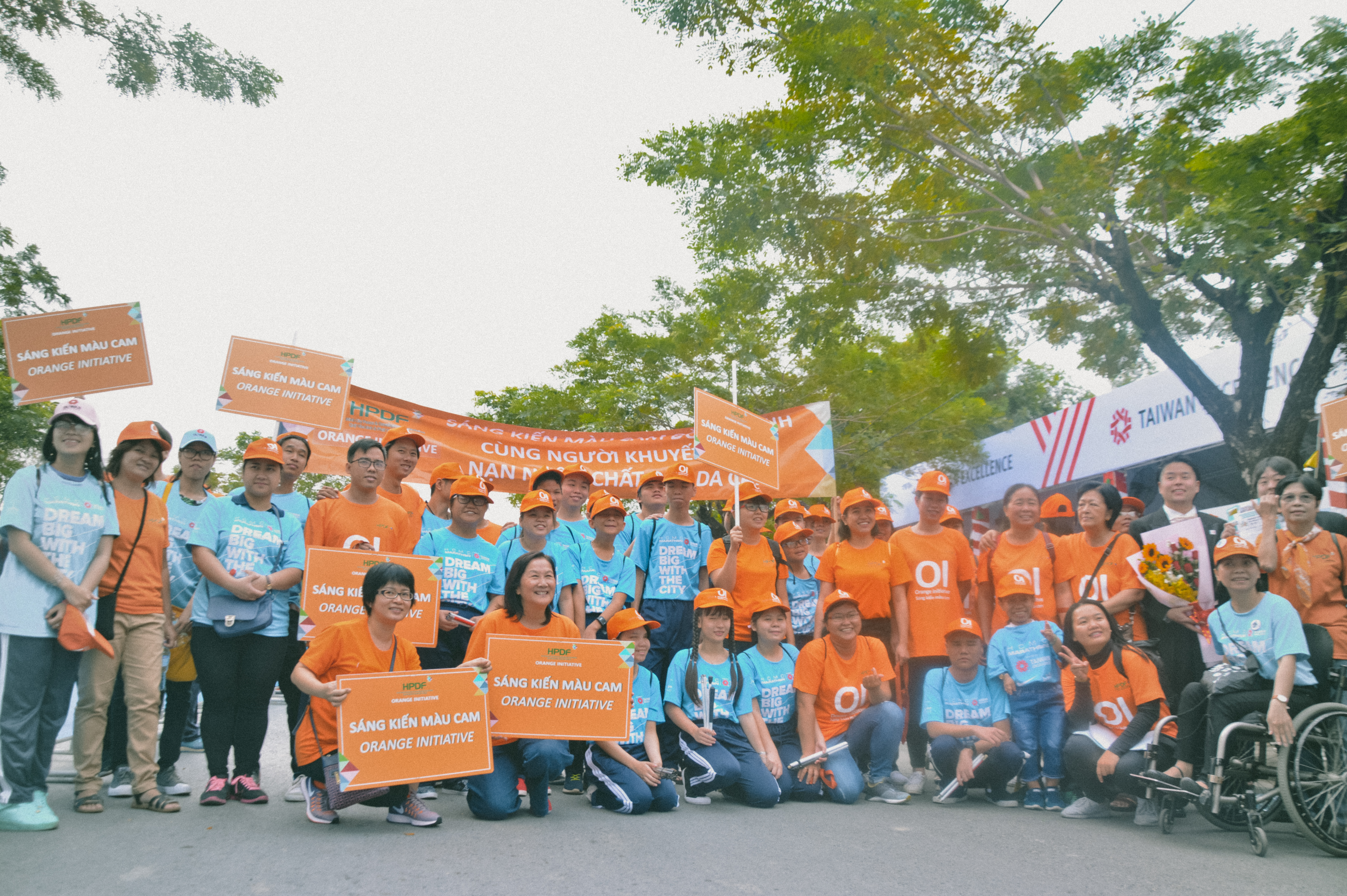 Sáng 14/1, Giải chạy Việt dã 2018 dành cho người khuyết tật và nạn nhân chất độc màu da cam được tổ chức tại 105 Nguyễn Khắc Viện, quận 7, TP HCM.