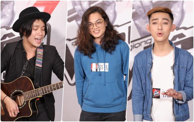 Xuất hiện những chàng trai đầy phong cách ở đợt tuyển sinh lần 2 The Voice