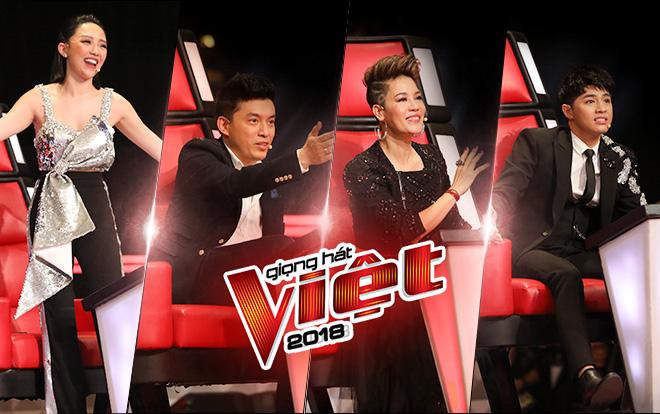 The Voice 2018: Muôn vàn tính cách, 'tuyệt chiêu' trên ghế nóng quyền lực!