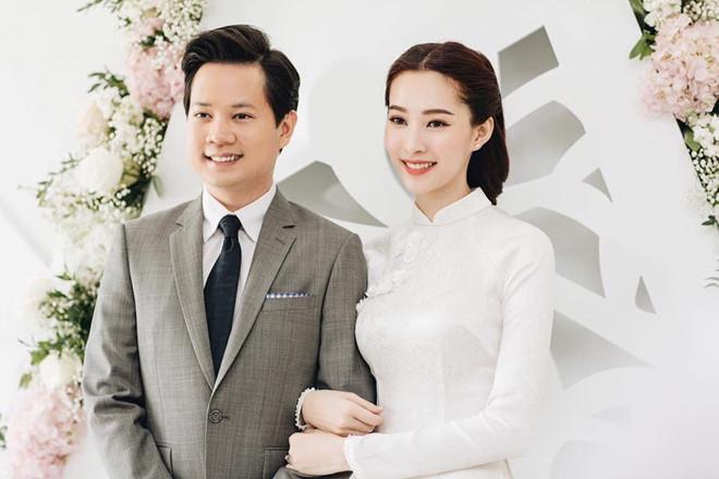 Đặng Thu Thảo kết hôn vào tháng 10/2017.