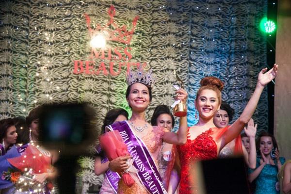 Đăng quang Miss Beauty năm 2015…