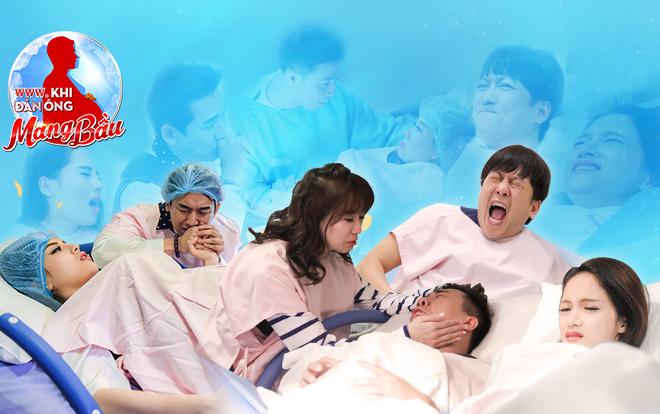 Tập cuối Manbirth: Song Giang - Kỳ Vĩ mẹ tròn con vuông, Trấn Thành - Hari khóc cười tính chuyện sinh em bé