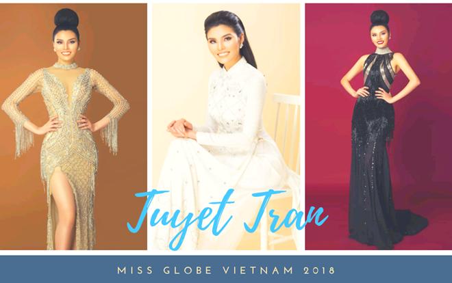 Thí sinh Siêu mẫu Việt Nam - Tuyết Trần tham dự Miss Globe 2018 tại Trung Quốc