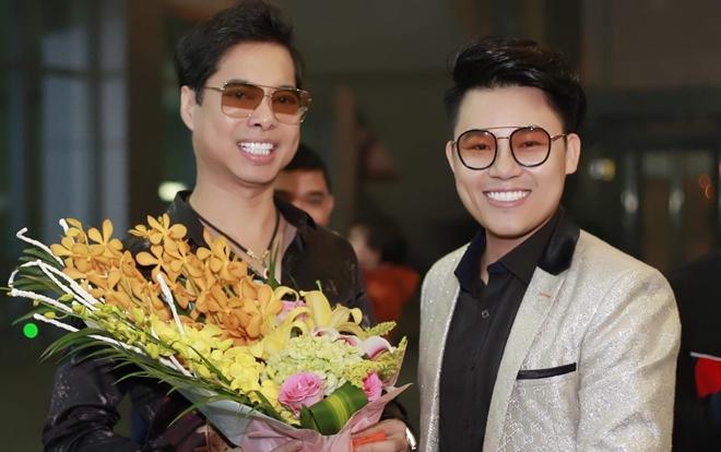 Duy Cường lần đầu hội ngộ danh ca Ngọc Sơn trong liveshow tại quê nhà Nghệ An