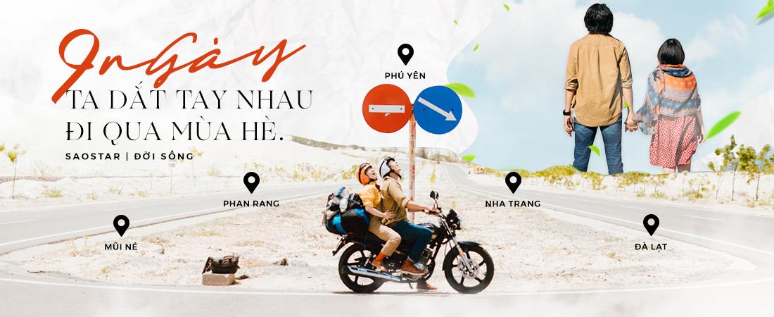 Đi dọc 5 tỉnh miền Nam suốt 9 ngày - cặp đôi Hà Nội này đã cùng 'dắt tay nhau qua mùa hè' theo cách như thế