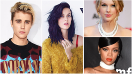 justin-bieber,katy-perry,rihanna,taylor-swift,top-view-youtube