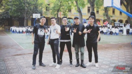 le-be-giang,mua-be-giang,the-voice,thpt-phan-dinh-phung,tiet-hoc-cuoi-cung