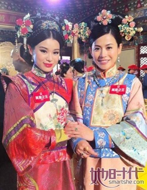 Nghệ sĩ TVB thường chia sẻ ảnh hậu trường làm phim trên trang cá nhân.