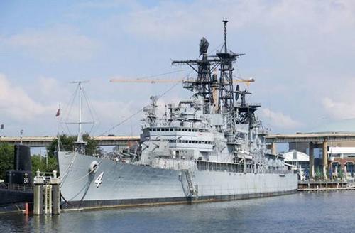 Chiếc USS Little Rock được thiết kế chuyên cho các nhiệm vụ tuần duyên và chiến đấu gần bờ. Ảnh: worldoftanks.com