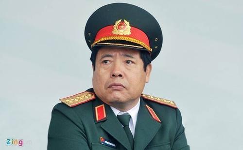 Bộ trưởng Phùng Quang Thanh. Ảnh: Hoàng Hà.