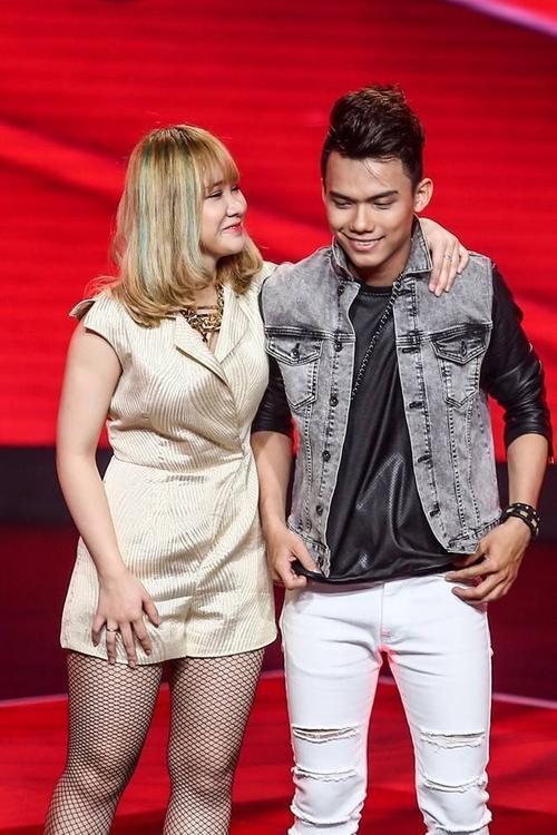 Hải Yến và Thái Sơn dừng chân tại Live show 2 sau khi được Mỹ Tâm cứu tại vòng Đối đầu.