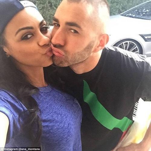 Benzema hẹn hò với bạn gái cũ của Witsel