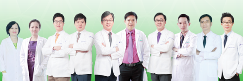 Đội ngũ bác sĩ chuyên môn cao tại Thẩm  mỹ viện JW.