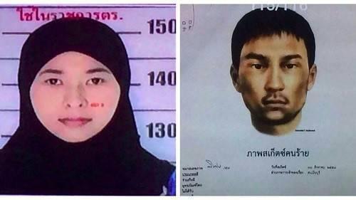 Cảnh sát Thái Lan mới công bố ảnh hai nghi phạm mới vụ đánh bom ở Bangkok.