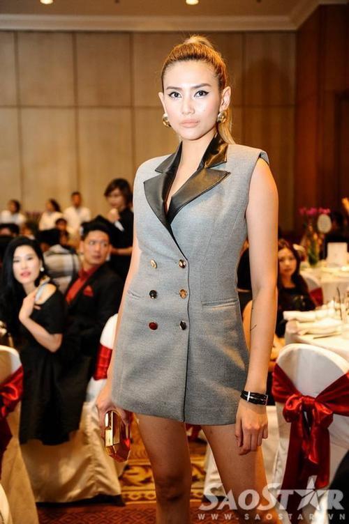 Siêu mẫu - á hậu Võ Hoàng Yến.