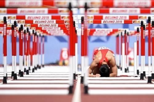 Honglin Zhang lặng lẽ trên đường đua khi bỏ lỡ cơ hội chiến thắng