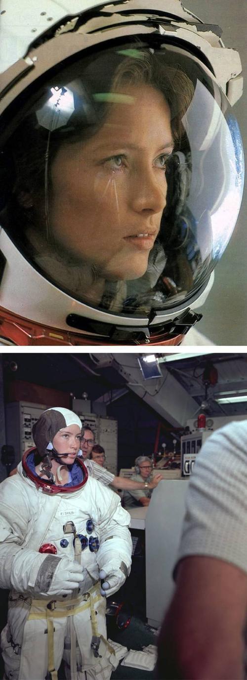 Nữ phi hành gia Ann Lee Fisher của NASA là người mẹ đầu tiên lên vũ trụ, ảnh chụp năm 1984.