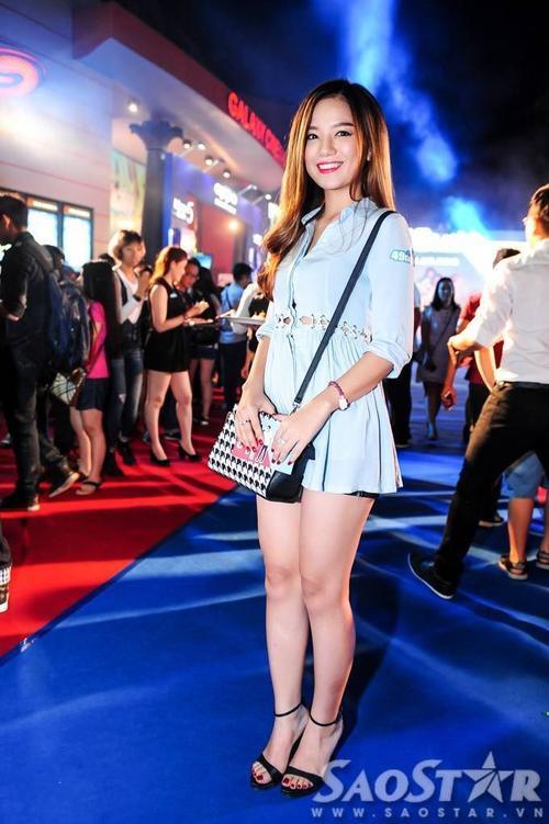 Hot girl - diễn viên Hạ Anh.