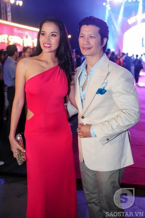 Vợ chồng Dustin Nguyễn - Bebe Phạm.