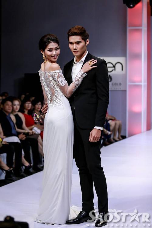 """Thời gian này, Quỳnh Châu nhận được nhiều sự quan của công chúng, truyền thông hơn khi cô quyết định """"chinh chiến"""" tại cuộc thi Hoa hậu Hoàn vũ 2015."""