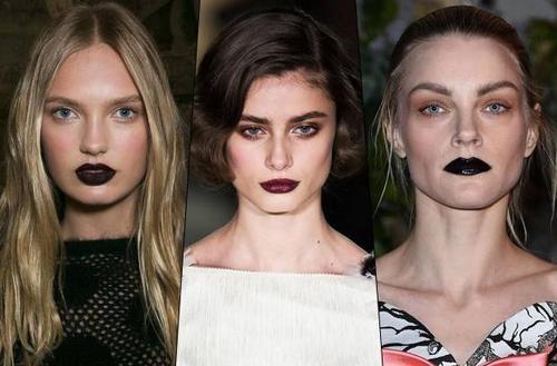 Goth lips