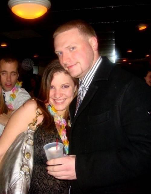 Chụp ảnh cùng bạn thân vào năm 2009